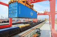 Ningbo ranks 3rd nationwide in rail-sea intermodal transportation