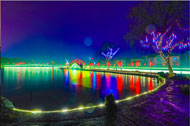 In pics: Lantern show adds to river's charm in Beilun district