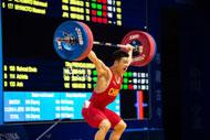 Ningbo weightlifter sets new record at Asian championships