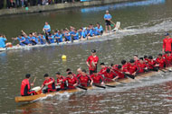 Dragon boat race kicks off in Yunlong town