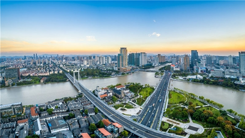 Ningbo, a modern city in Zhejiang's