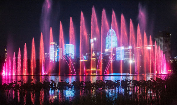 Splendid water show to be staged in Yinzhou