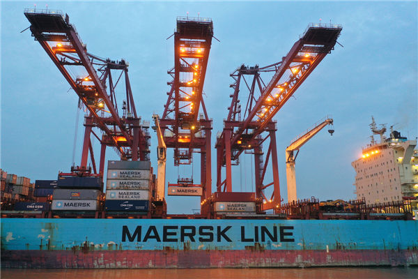 Port sees container throughput exceed 27.53m