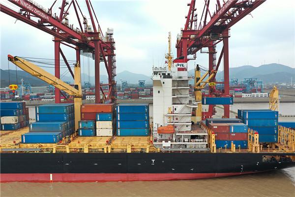 Sea-rail transportation up 25% at Ningbo Zhoushan Port