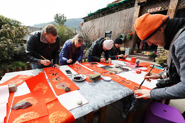 Expats invited to experience Spring Festival customs