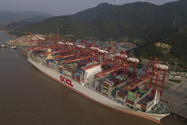 China's busiest port sees robust container throughput growth