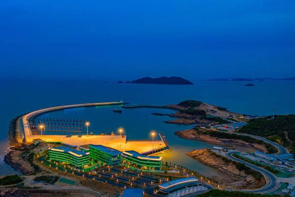Asians Games Sailing Center tests lighting