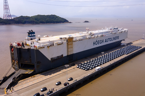 New ro-ro shipping route to Belgium opened