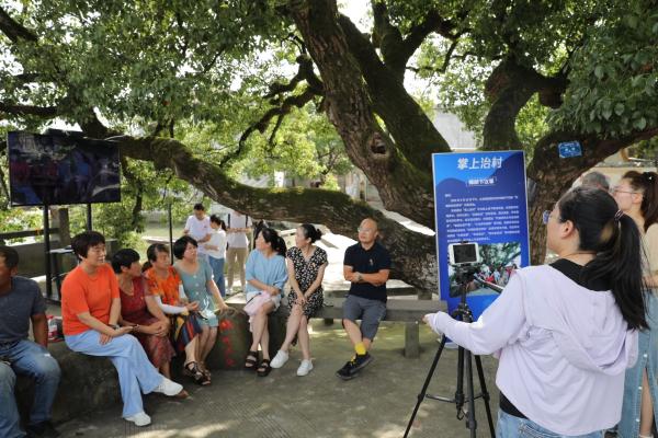 Digital platform helps with village governance in Ningbo