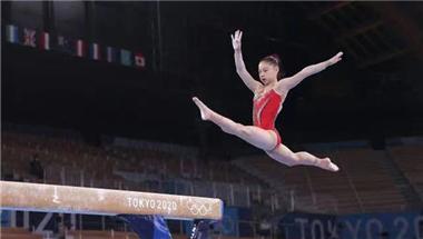 China's Guan Chenchen wins women's balance beam gold