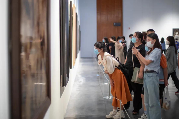 National lacquer painting exhibition opens in Ningbo