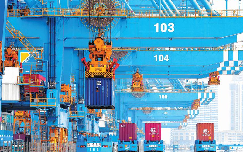 China's foreign trade up 22.7% Jan-Sept
