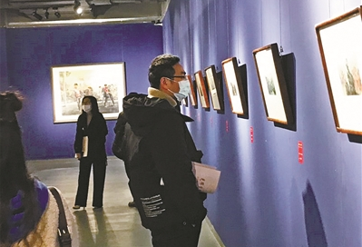 Exhibition celebrating Party's centenary underway in Ningbo