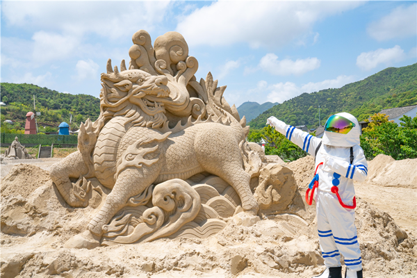Ningbo's first sand sculpture park opens in May