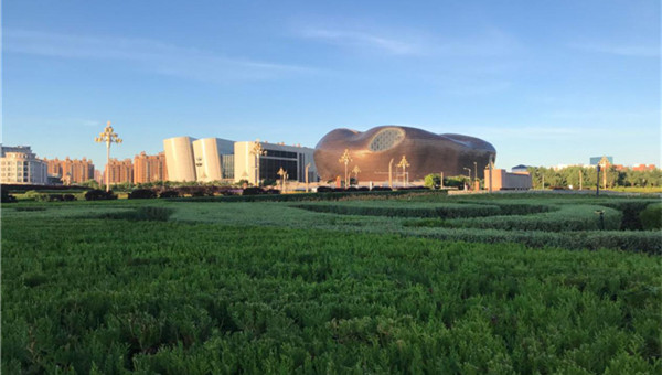 Ordos rated as country's top green city