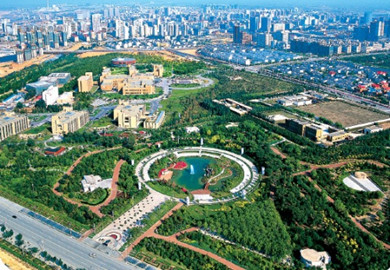 Ordos' banner wins national ecological honor