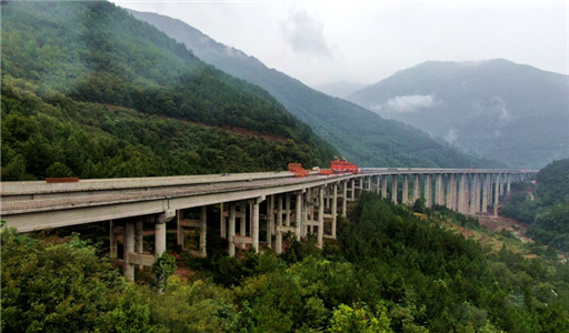 Bawan Expressway's longest bridge completed