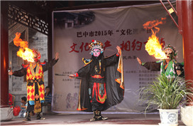 Intangible heritage of Bazhong: Sichuan opera