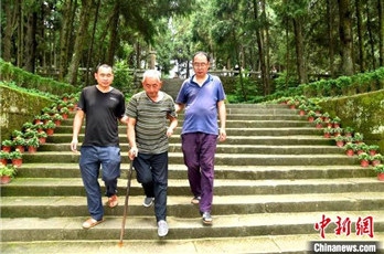 Family volunteers to guard martyrs'cemetery for decades