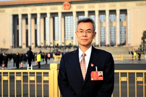 Jinan NPC deputy eager to deliver people's voices