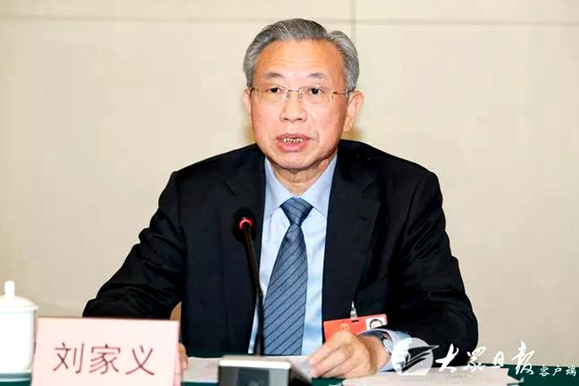 Liu Jiayi: Create Shandong model for rural revitalization