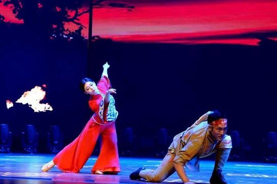 General public culture show staged in Jining