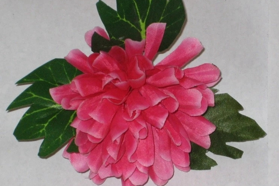 Dazhuang silk flower production techniques