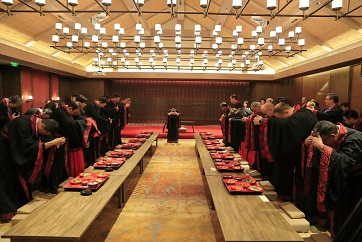 Han Dynasty etiquette lives on in Qufu