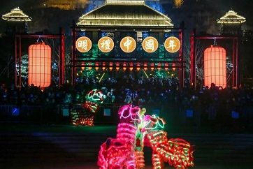 Jining a tourist magnet during Spring Festival holiday