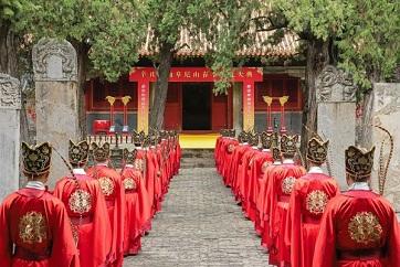 Memorial ceremony for Confucius takes place in Qufu