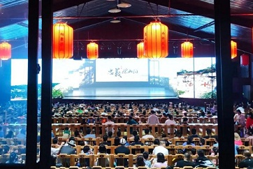 Jining a popular tourist destination during May Day holiday