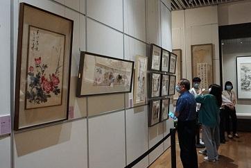Jining Museum hosts show featuring art by Qi Gong, Wang Xuetao