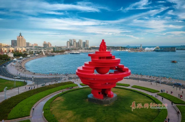 The eastern coastal city of Qingdao.jpg