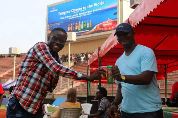 Tsingtao beer festival held in Liberia
