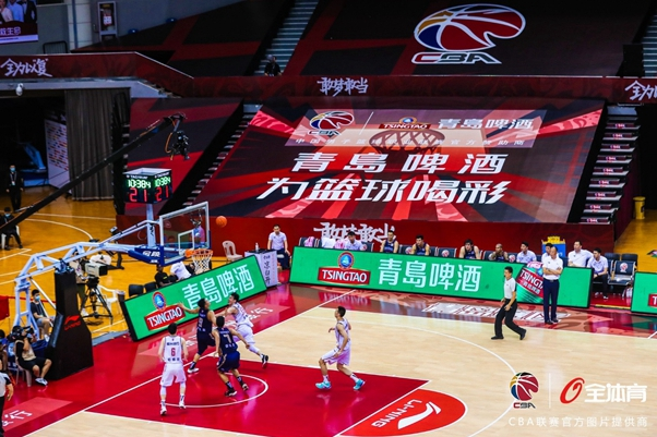 Tsingtao beer shows support for CBA