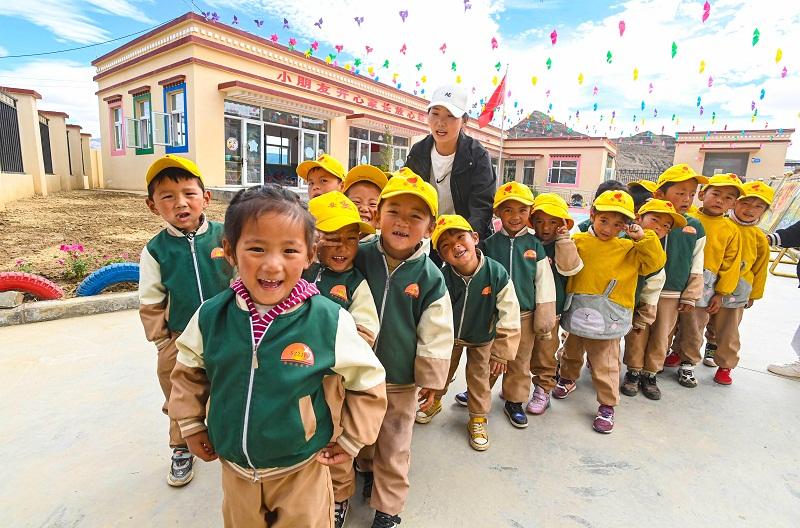 Kindergartens galore come to Tibet