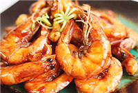Braised prawns (油焖大虾/You Men Da Xia)