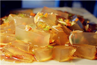 Qingdao bean jelly (青岛凉粉/Qingdao Liang Fen)