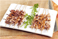 Qingdao grilled squid (青岛烤鱿鱼/Qingdao Kao You Yu)