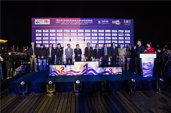 First stand-up paddling world championship concludes