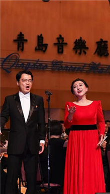 Shinan holds concert to celebrate Party centenary