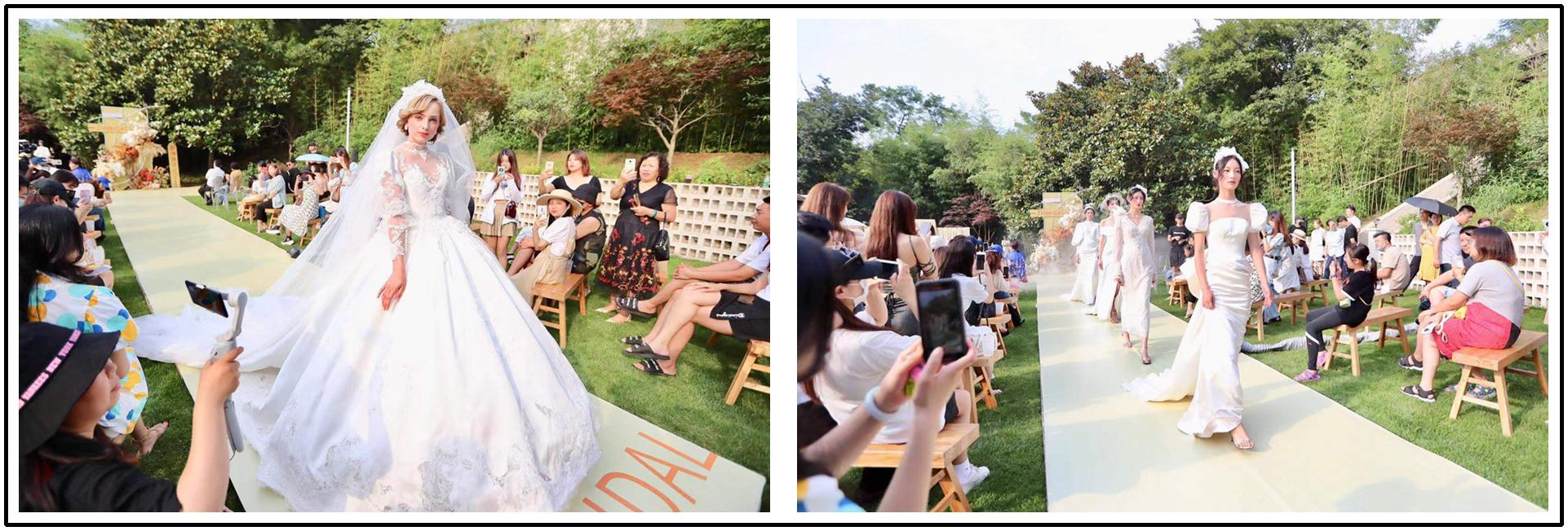 'You light up my life': romantic courtyard weddings in Shinan