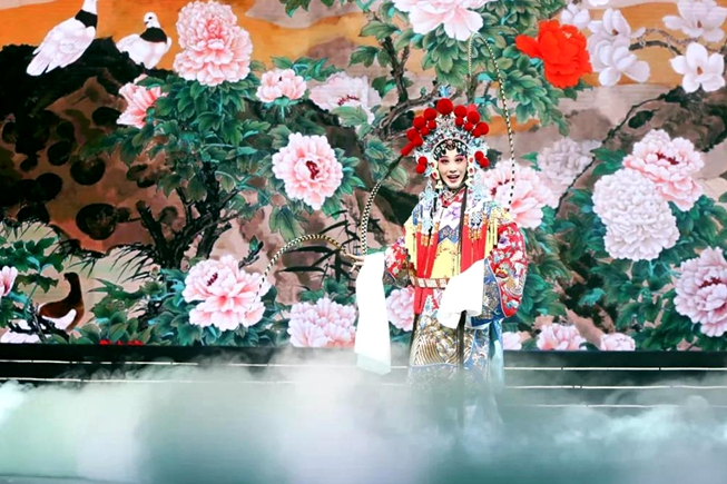 Traditional opera concert rings in New Year in Shandong
