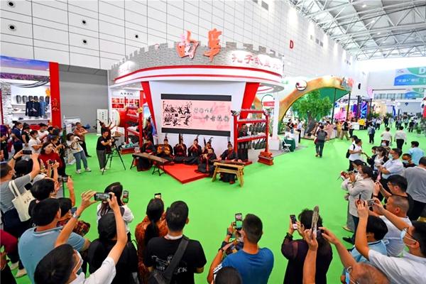 Qufu dazzles at China cultural tourism fair