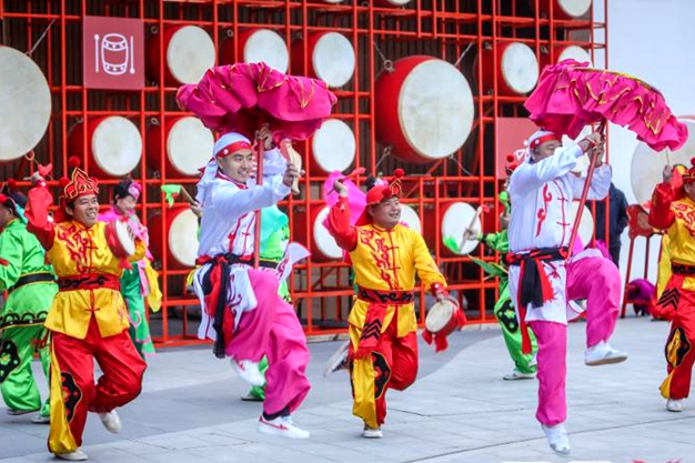 Intangible cultural heritage on display at Shandong expo