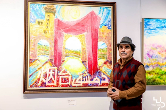 Exhibition featuring Syrian art held in Yantai