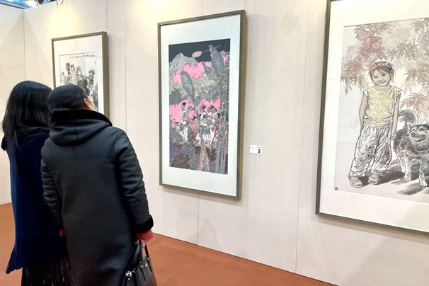Chinese Painting Festival underway in Weifang
