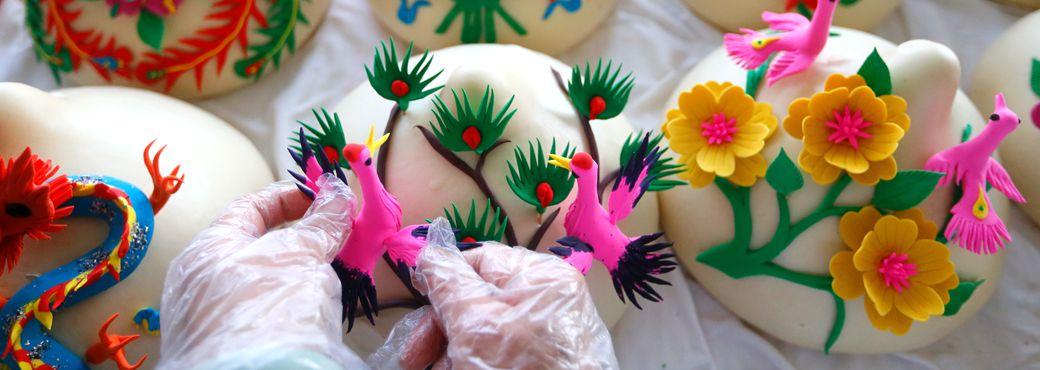 Qingdao steamed buns add to festive aroma