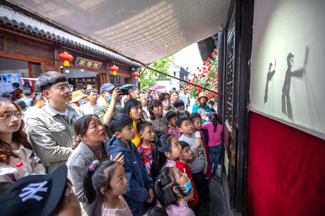 Explore cultural legacy at Taierzhuang ancient town