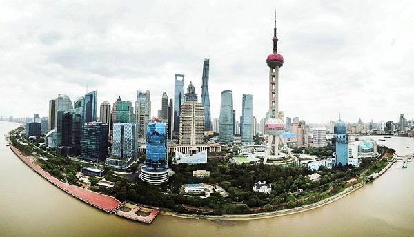 Pudong becoming key global financial center